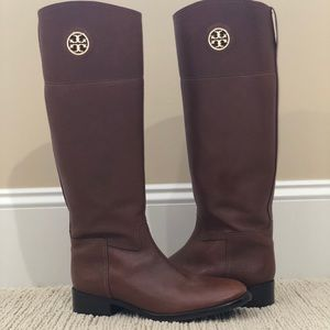 Tory Burch Junction Riding Boots- Size 10